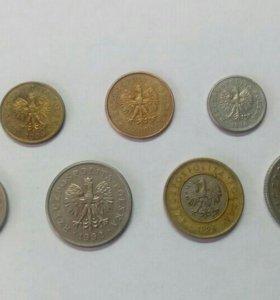 Монеты Польши лот 13
