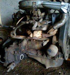 Двигатель с коробкой в сборе ВАЗ 2109