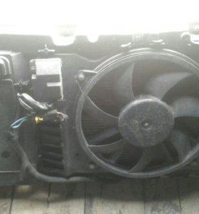 Радиатор охлождение двигателя в зборе