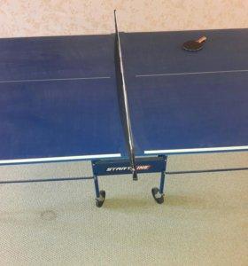 Стол тенисный + ракетки