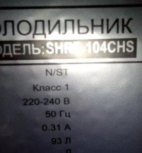 Холодильник компактный на гарантии