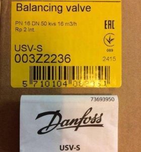 Клапан балансир. Danfoss DN 50 USV-S 003Z2236