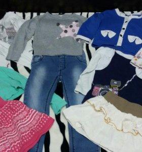 Джинсы,юбки,кофты,болеро...