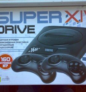 Sega Super Drive XIV 14, новая + 160 игр.