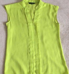 Салатовая блузка ostin