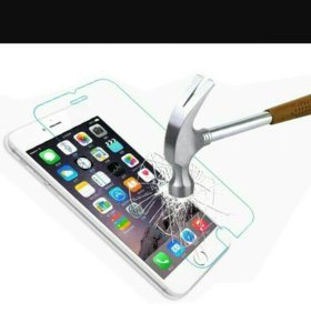 Защитное стекло на iPhone 6plus 7plus