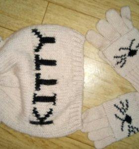 Комплект - шапочка +перчатки, ACOOLA