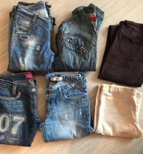 Джинсы ,брюки от 150