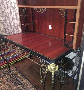 Кованый компьютерный стол