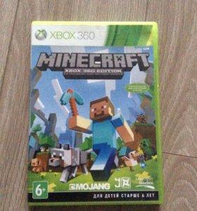 Игра на Xbox 360 Minecraft