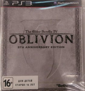 TES: OBLIVION 5th anniversary edition PS3
