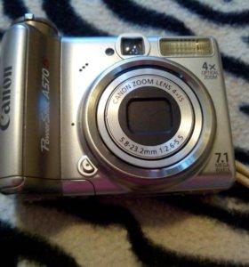 Фотоаппарат Canon A570.