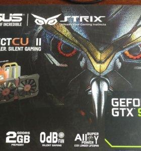Видеокарта GTX 960 Strix 2GB
