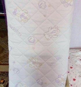 Детский матрас для кроватки
