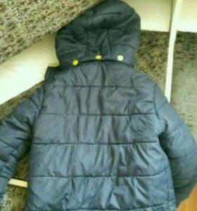 Курточка на мальчика 2-4 года
