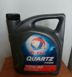 TOTAL QUARTZ 10W-40 п/синтетика