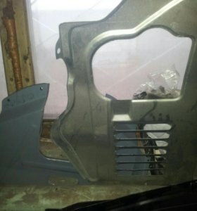 Грязезащита двигателя ваз2110