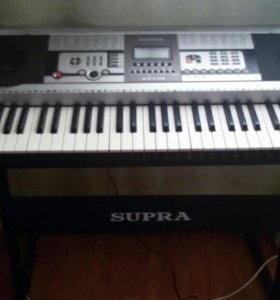Синтезатор supra +стойка
