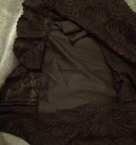 Платье кружевное короткое