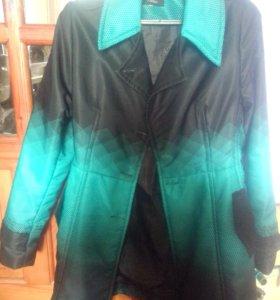 Утепленное пальто куртка