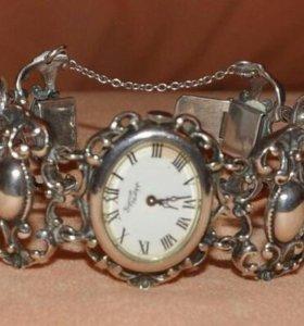 Часы серебрянные винтажные Bijoux Philipp