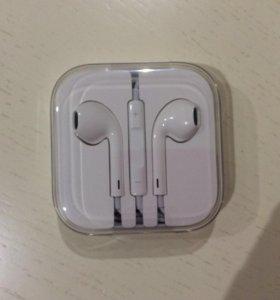 Наушники apple EarPods с разъёмом 3,5 мм оригинал