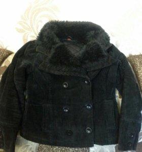 Куртка женская вельветовая демисезонная р.46-48