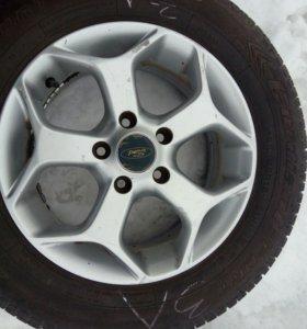Три колеса с литыми дисками Cordiant Sport