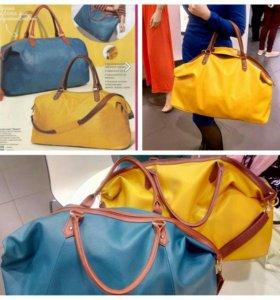 Стильная сумка новая(цвет желтый, синий)