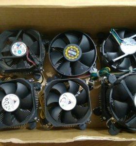 Вентиляторы охлождения для CPU LGA 775 бу и новые