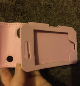 Чехол на айфон розовый