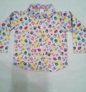 Рубашка с совами рост 98-104 Palomino, Германия