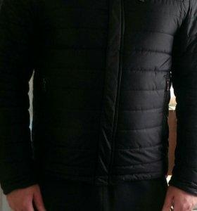 Куртка с мехом зима-осень