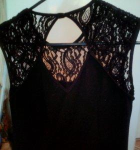 Чёрное платье 46-48р-р