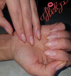 Наращивание Helga ногтей