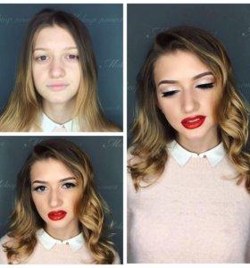 Визажист, свадебный макияж, макияж