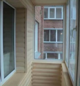 Отделка балконов вагонкой и пвх панелями