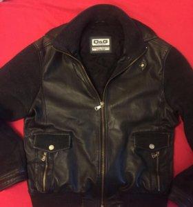 Кожаная куртка DG Denim  ( оригинал)