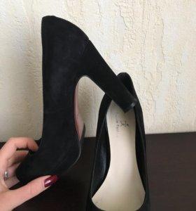 Туфли , натуральная замша!!!