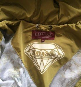 Куртка-пальто женская, легкая новая р.60
