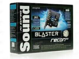 Звуковая карта Sound Blaster Recon3D