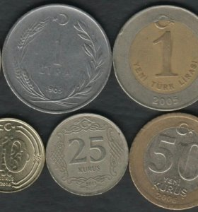 8 монет Турции