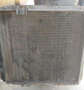 Печной радиатор 2шт генератор радиатор двигателя!