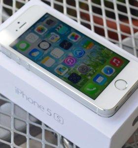 Продам iPhone 5s silver 16 Гбайт