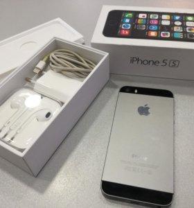 IPhone 5s 16 гб в идеале полный родной комплект