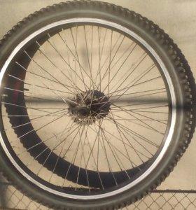 Колесо на велосипед 26 дюймов