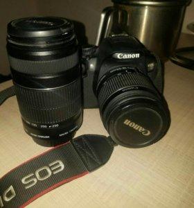 Canon EOS650D kit 18-55 + 55-250