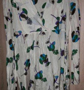 Блузка intimissimi новая натуральный шёлк