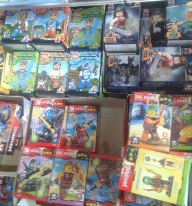 Лего Ninjago, Minecraft, Star Wars.