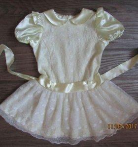 Платье 100-110 см